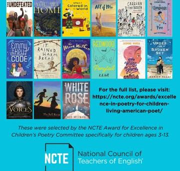 ALL OF ME is an NCTE Notable Novel in verse for 2020!