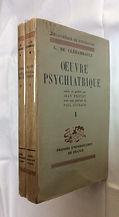 Clerambault, G. G. de Oeuvres psychiatri