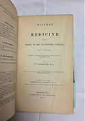 Renouard, P.V. History of Medicine, from
