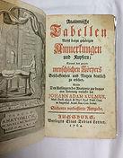 Kulmus, Johann Adam Anatomische Tabellen
