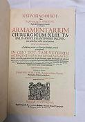 Scultetus, Jahannes Armamentarium Chirur