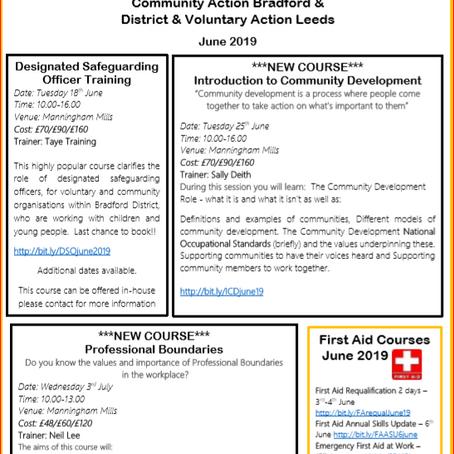 NEW Training Leaflet June 19