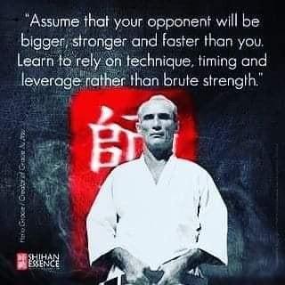In Martial Arts: