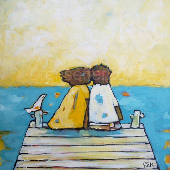 Love on the Dock