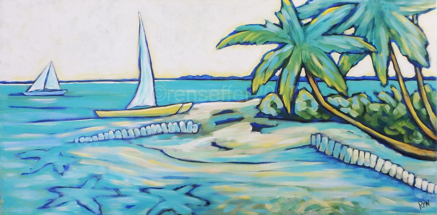 Sailing to Starfish Point