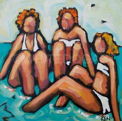 Sisters at Starfish Point