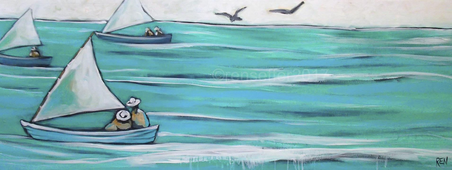 Cat Boat Racing #1