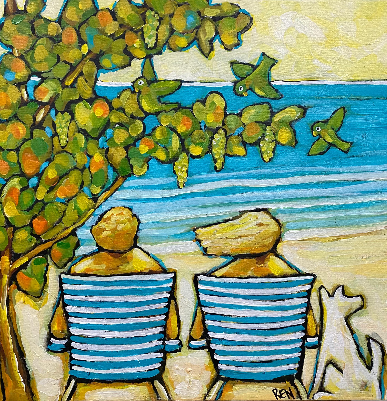 Us Three Under the Seagrape Tree