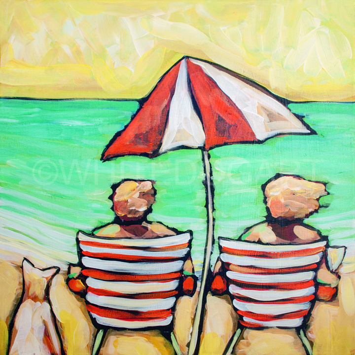 Us Three By the Sea