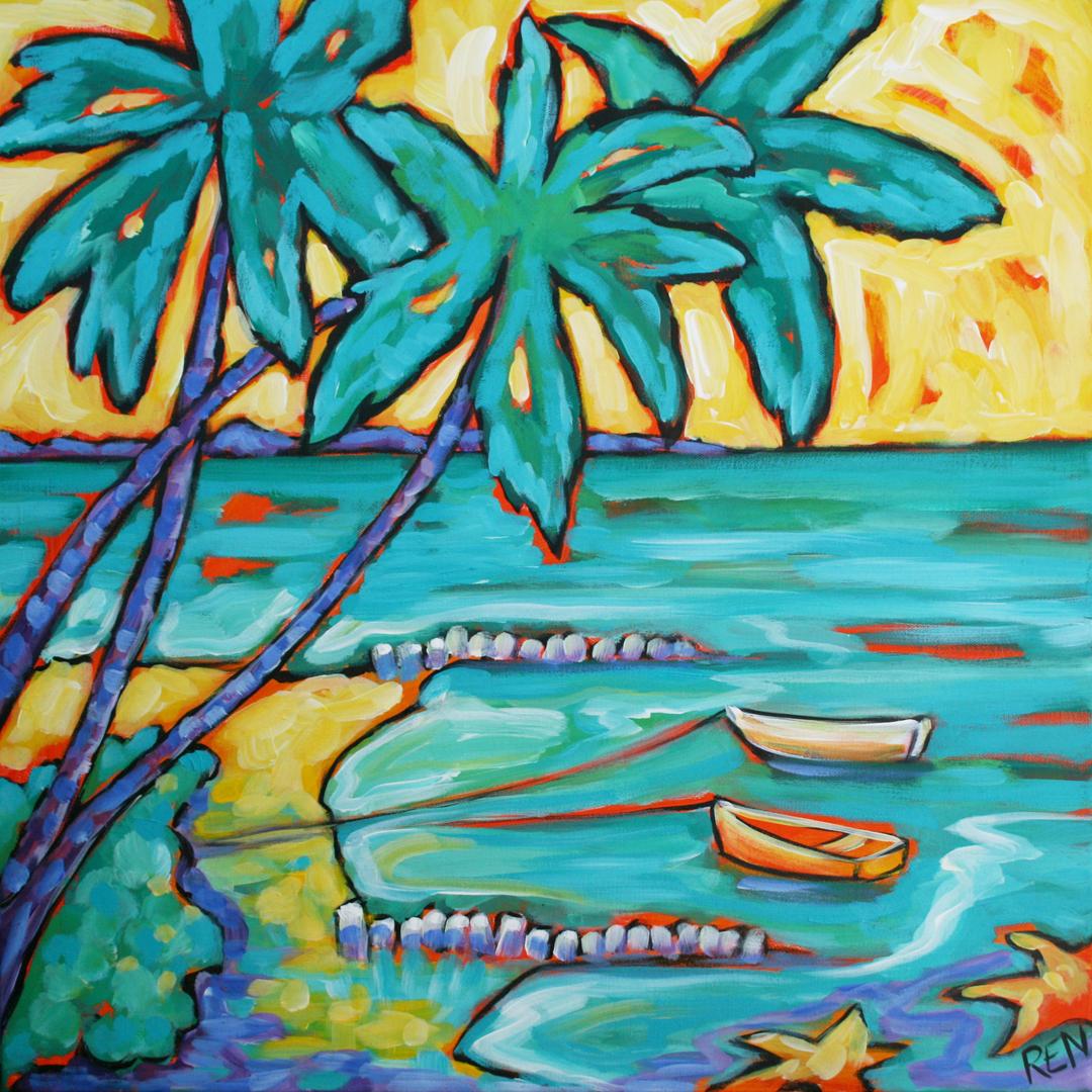 Sunset at Starfish Point