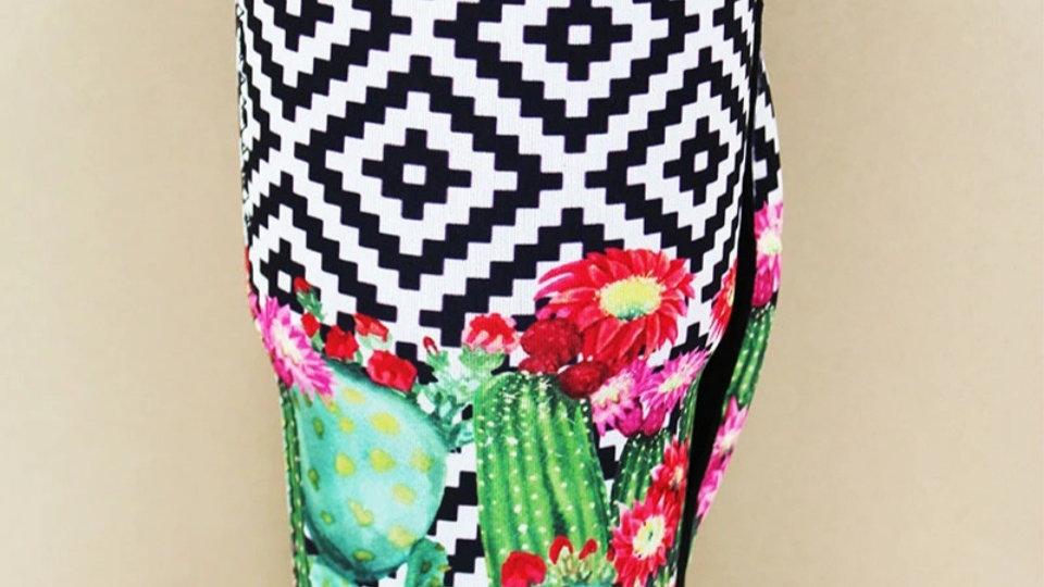 Aztec Cactus Garden Tumbler Koozie