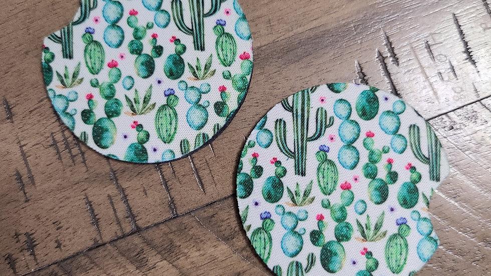 Cactus Car Coasters