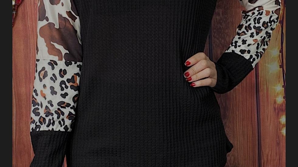 Black Multi Sleeves