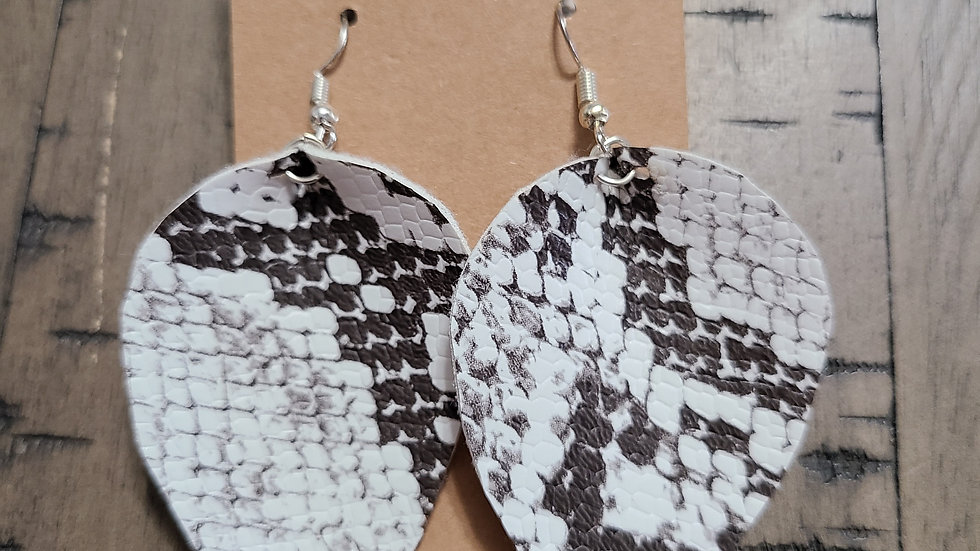 Chocolate Snake Print