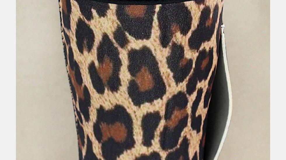 Leopard Tumbler Koozie
