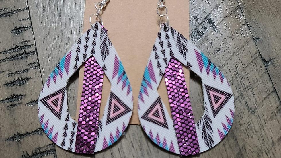 Purple Aztec Cutout