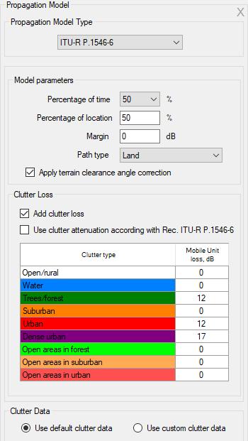 RadioPlanner User Manual. Figure 47. ITU