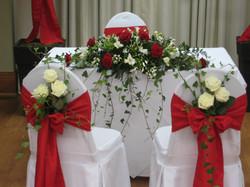 Ceremony Table Arrangement