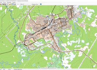 Представляем нашу новую разработку - топографическую карту Topo CTT