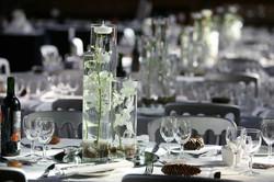 Cylinder Vase Table Arrangements