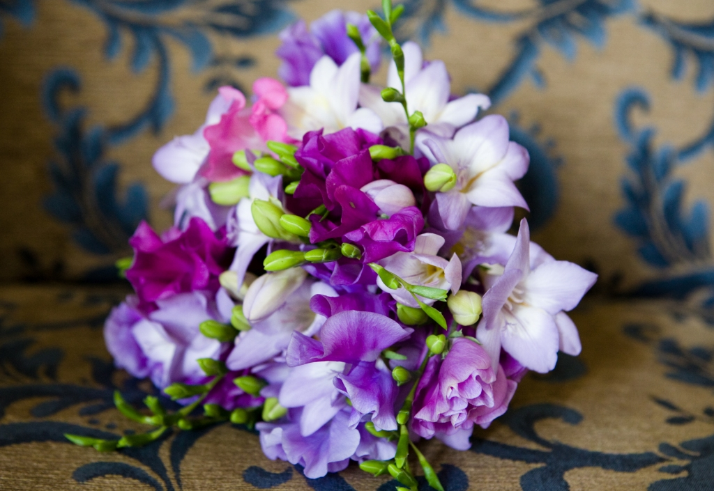 Posy of Freesia