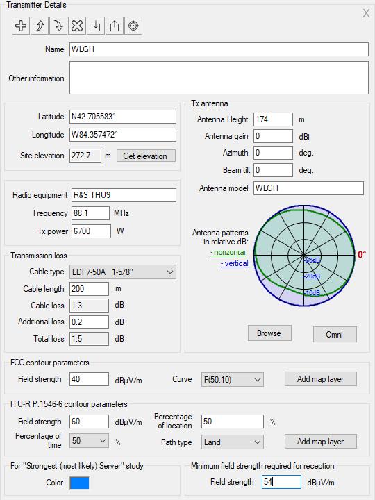RadioPlanner User Manual. Figure 46 Tran