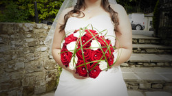 Brides Hand Tied Bouquet of Roses
