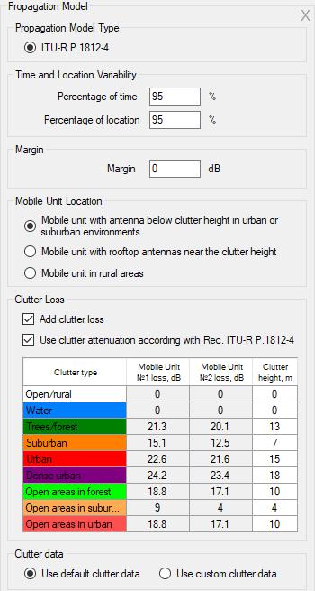 RadioPlanner User Manual. Figure 22 ITU-