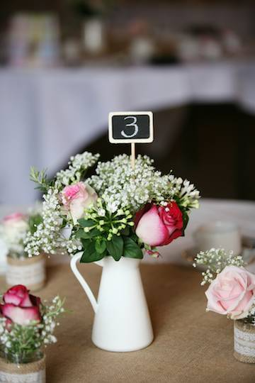 Jug Table Arrangement