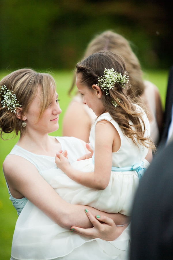 Gypsophelia hair pieces