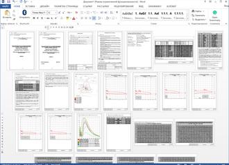 Отчет по настраиваемому шаблону Microsoft Word в SanZone. Важное обновление SanZone 5.1_200130.