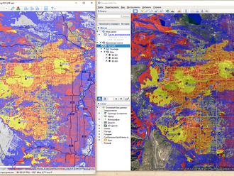 Экспорт зон покрытия в файл KMZ для Google Earth (Google Планета Земля) из RadioPlanner 2.1