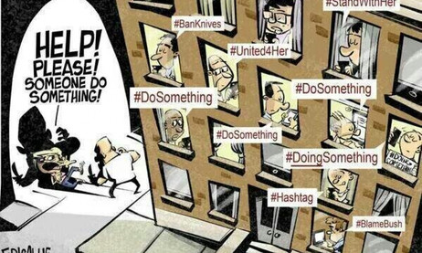 Being socially active in a world over-run by social-media ... ?