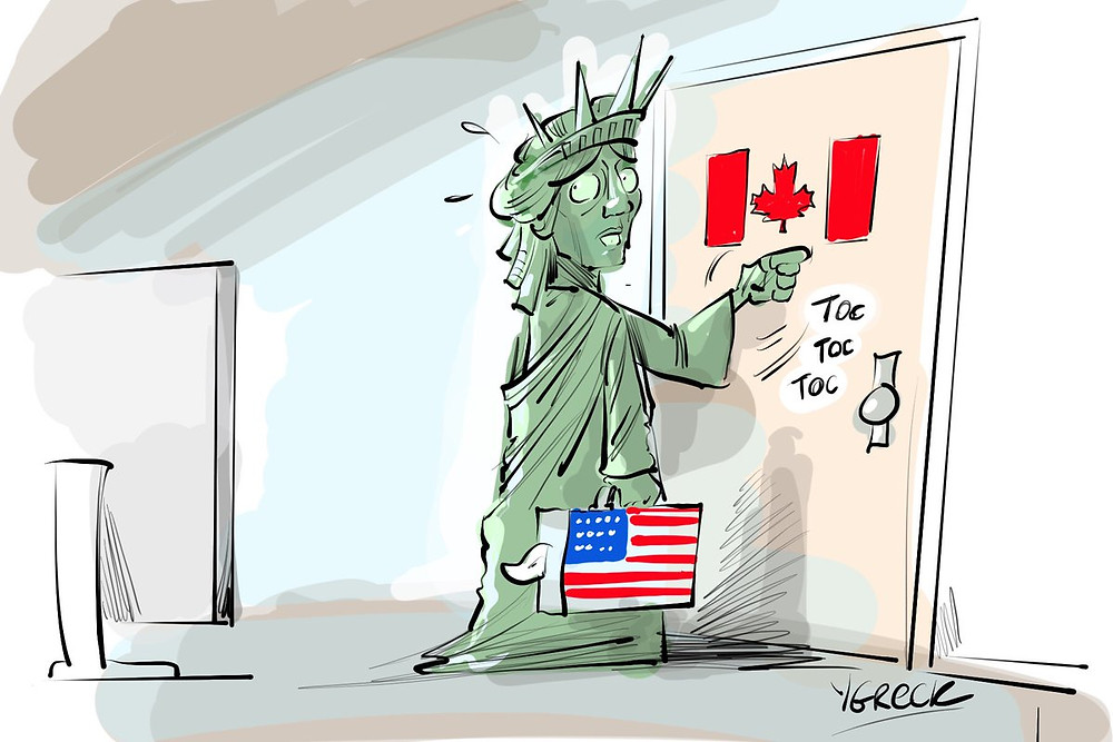 Canadian Cartoonist: ygreck