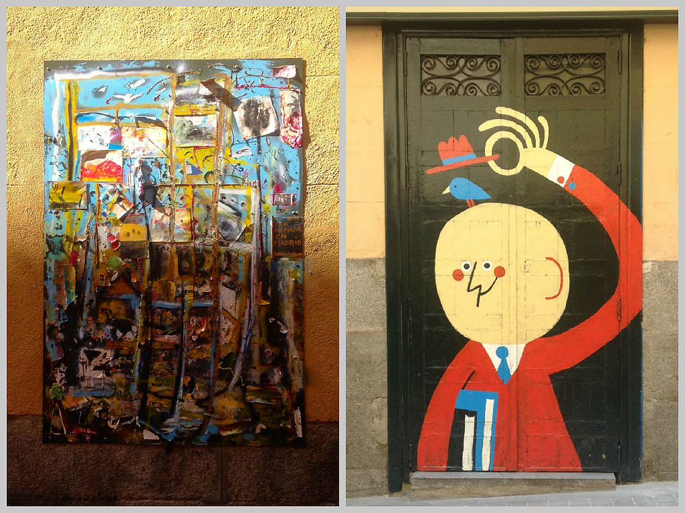 Some more art found on the Streets of Madrid