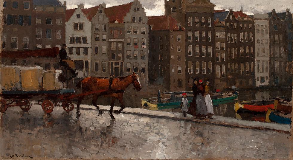Breitner, G.H. On the Nieuwe Brug, A'dam