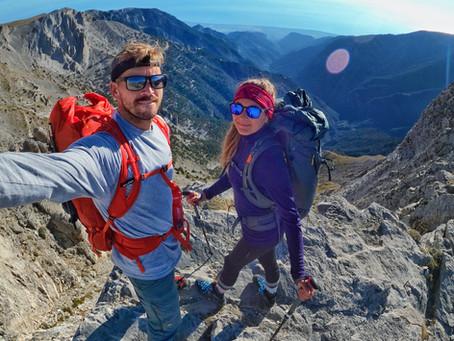 Entering Greece, exploring meteora and hiking Mount Olympus