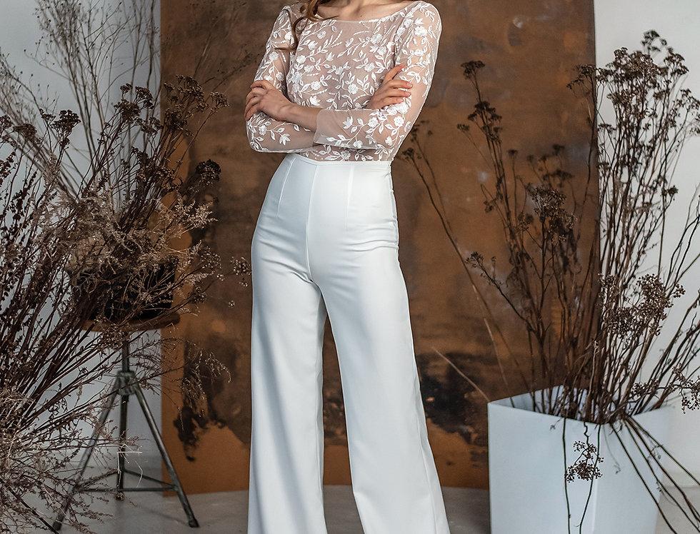 Szerokie spodnie Margo