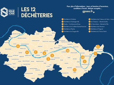 GESTION DES DECHETS |Ouverture des 12 déchèteries du territoire à l'ensemble des habitants.