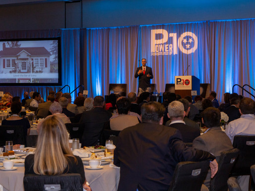 Nearly 300 of the region's leaders gather at the Power of Ten summit