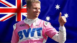 Nico Hülkenberg remplace le Grand-Prix d'Australie