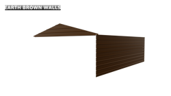 EARTH BROWN WALLS
