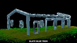 SLATE BLUE TRIM