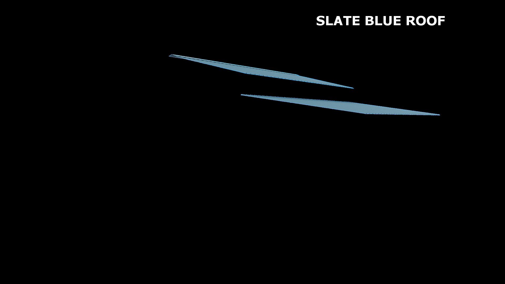 SLATE BLUE ROOF