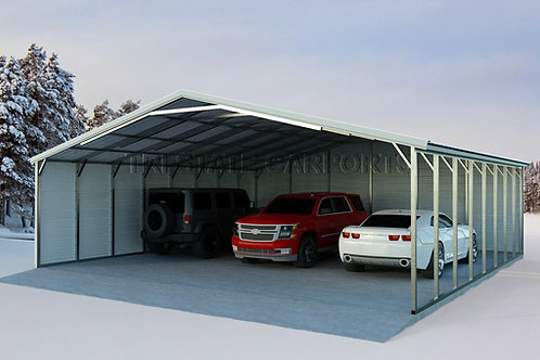 30WX30LX8H VROOF CARPORT