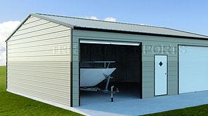 vertical roof garge
