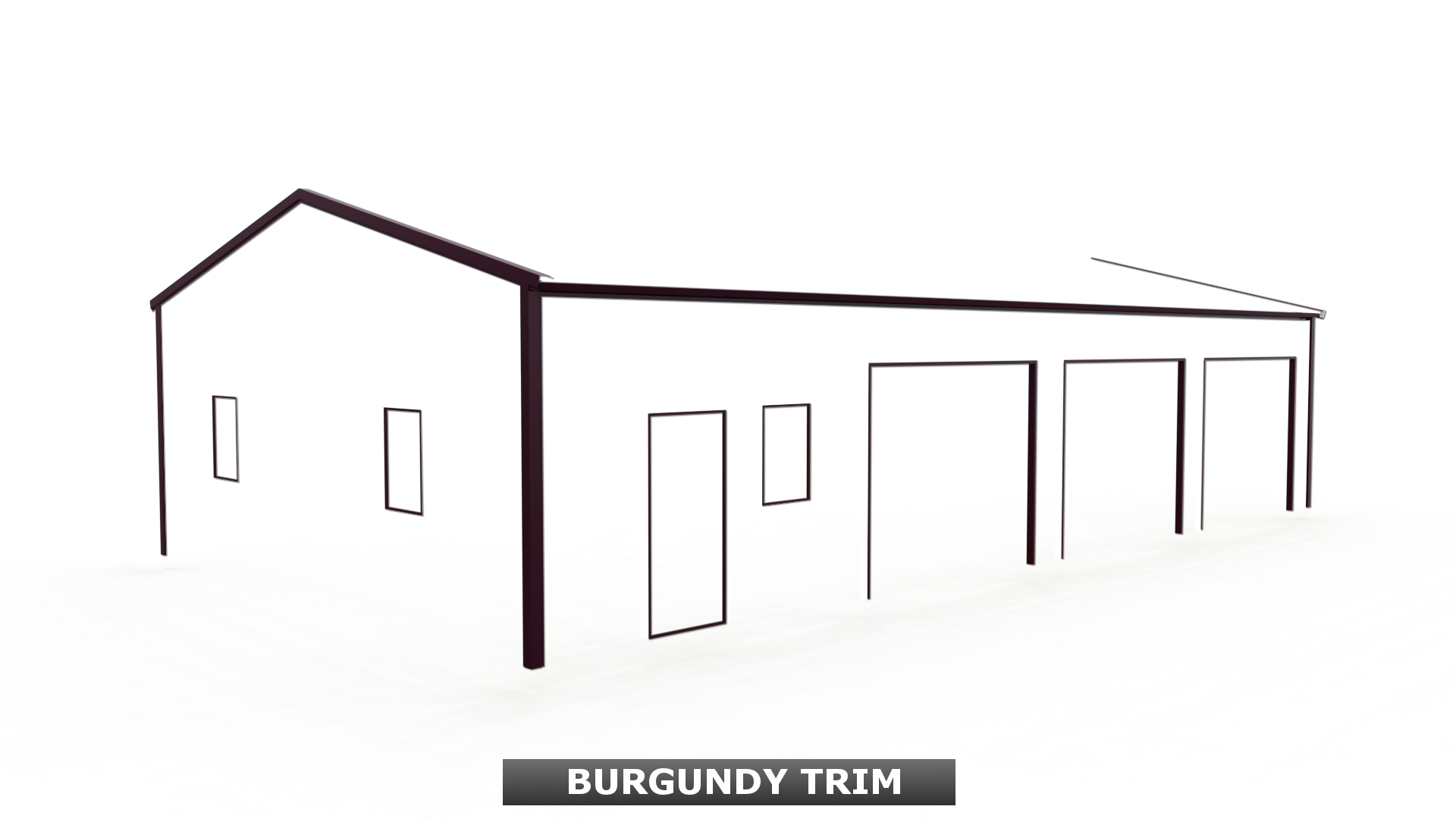 BURGUNDY TRIM
