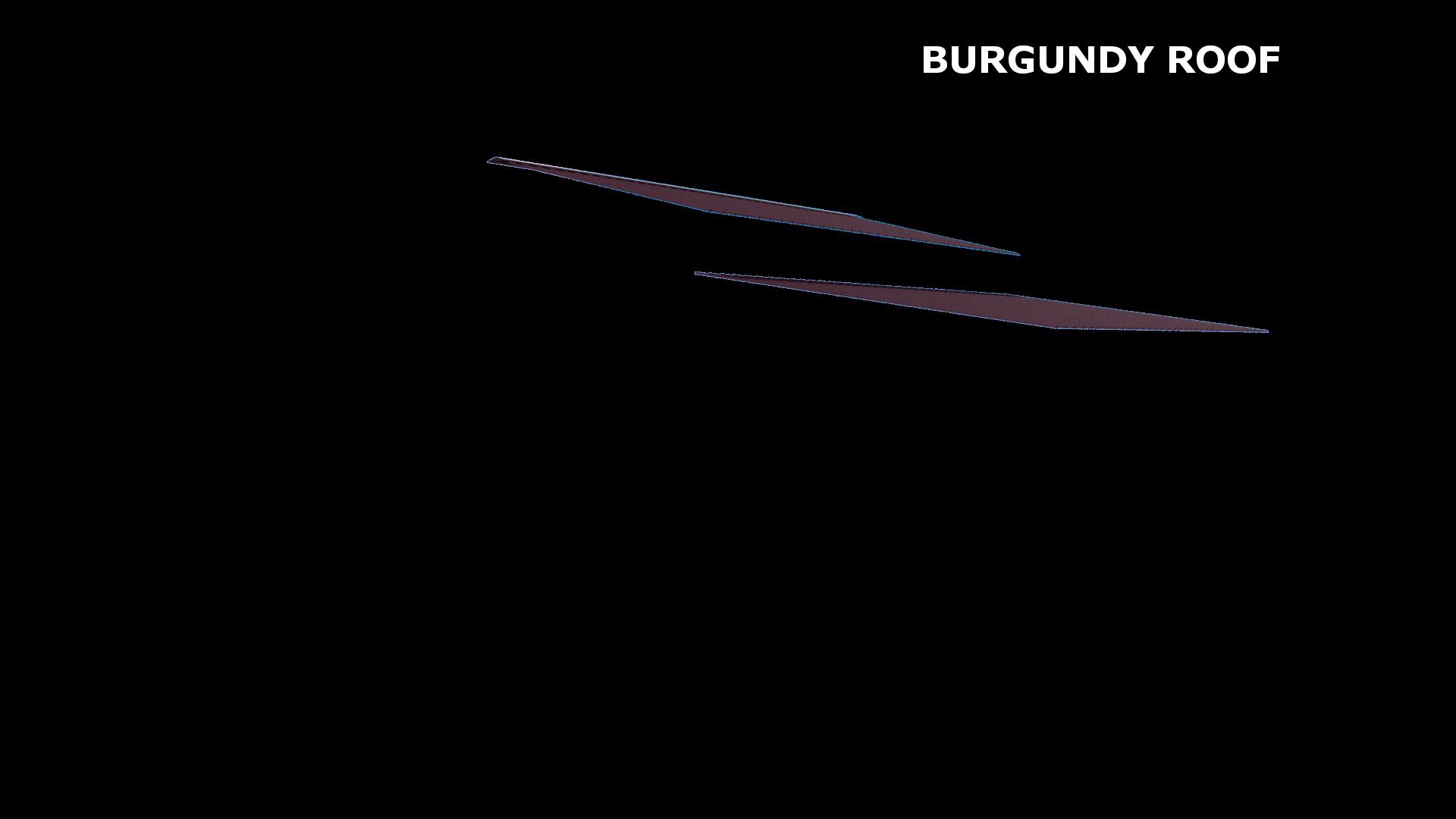 BURGUNDY ROOF