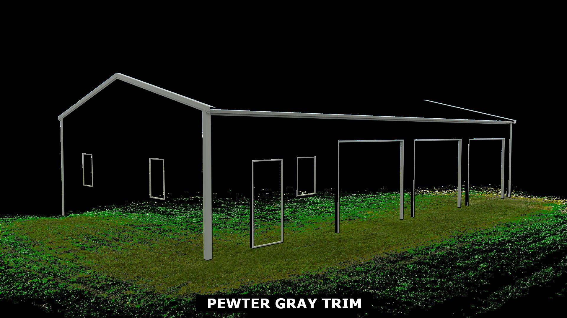PEWTER GRAY TRIM