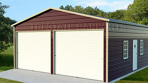 boxed eave style garage